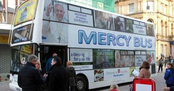 MERCY BUS IS BACK ON THE ROAD TO SPREAD THE JOY OF THE GOSPEL
