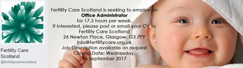 Fertility Care Scotland - Office Administrator