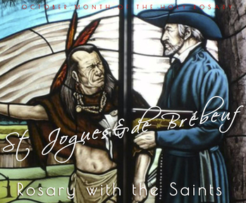 Saints Isaac Jogues, Jean de Brébeuf, and Companions