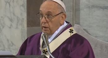 Popes Lenten Message 2018