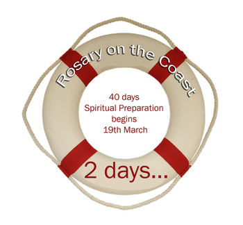 40 Day Spiritual Preparation Countdown to the Rosary on the Coast
