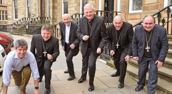 Bishops across Scotland got on their marks...