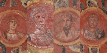 Are these the true faces of Saint Peter and Saint Paul?