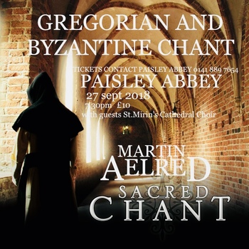 Event Now Cancelled - Gregorian & Byzantine Chant