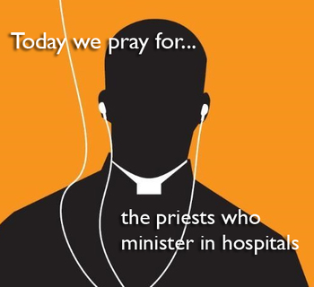 Calendar for Lent - Priests who minister in hospitals