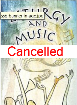 Event Now Cancelled - Celebrating the Mass an SSG Spring Gathering