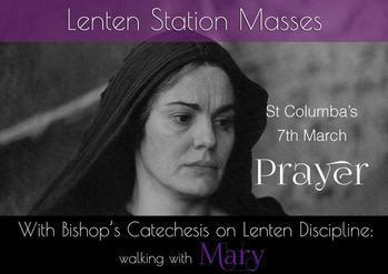 Lent Station Masses St. Columba's, Renfrew.