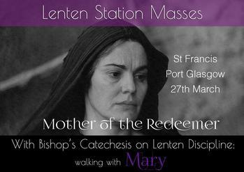 Lenten Station Masses - St. Francis', Port Glasgow
