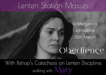 Lenten Station Masses - St Margaret's, Johnstone