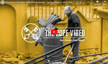 Popes Video for March 2019
