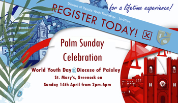 Palm Sunday celebration of World Youth Day