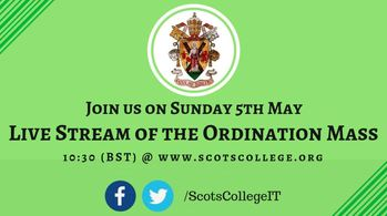 Ryan Black's‏ Ordination Mass Sunday 5th May