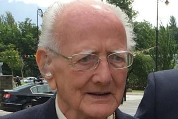 D-Day war hero Gerald Fisher laid to rest in St Conval's Cemetery