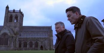 Kevin Turley and Bishop John Keenan take a walk around Paisley...