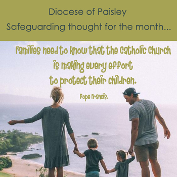 Safeguarding – Thought for the month