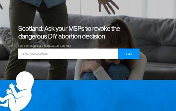UK Government and introduced 'DIY' abortions to Scotland and Wales