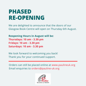 Pauline Books & Media - Phased Re-Opening