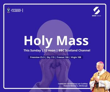 St Bennet's, Edinburgh, Holy Mass celebrated by Archbishop Cushley