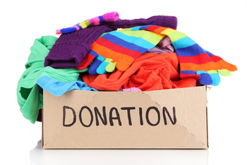 Clothing and Blanket Drive Ends