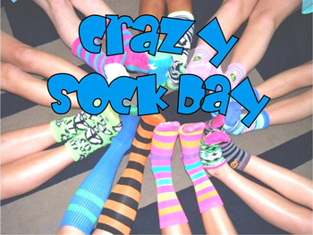 Wacky Wednesday! Crazy Sock Day