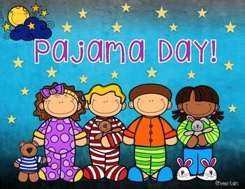 Wacky Wednesday! Pajama Day