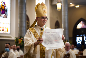 The wait is over: Bishop Steven J. Raica installed as Birmingham's fifth bishop