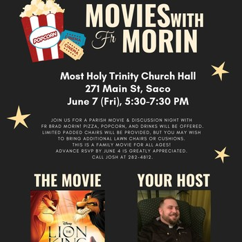 MOVIES WITH Fr. MORIN