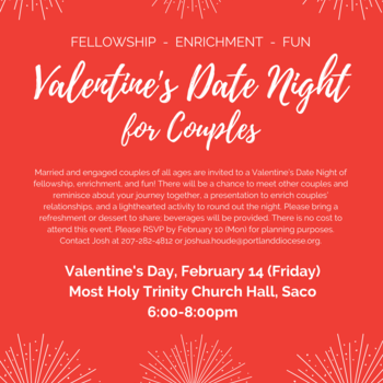 Valentine Date Night for Couples