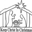 Keep Christ in Christmas Magnets