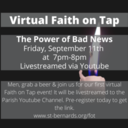 Livestream Replay Available! Faith on Tap: The Power of Bad News