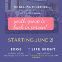 Youth Group Back in Person