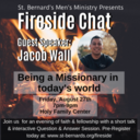 Fireside Chat Event-August 27th