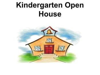 Kindergarten Open House - November 29th