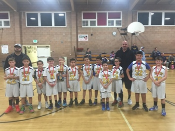 CYO Boys Basketball Takes 2nd Place!