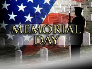 Memorial Day - Parishes Offices Closed
