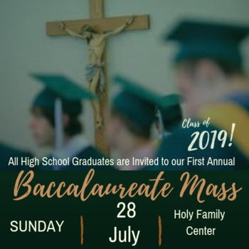 High School Baccalaureate Mass - Class of 2019
