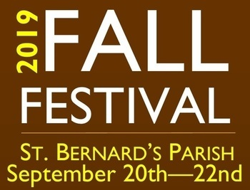28th Annual FALL Festival: Sept. 20-22, 2019