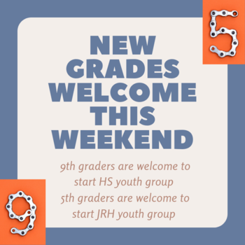 Youth Group Registrations