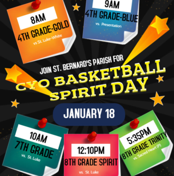 CYO Basketball Spirit Day