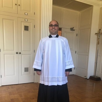 Congratulations Abraham Barrera on his ordination to the Holy Order of Deacon.