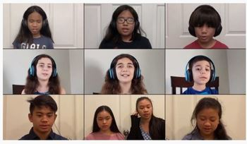 Lift Your Spirits with our Virtual Kids Choir