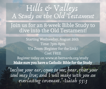 Hills & Valleys: A Study on the Old Testament