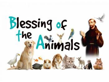 Blessing of the Animals - October 3rd