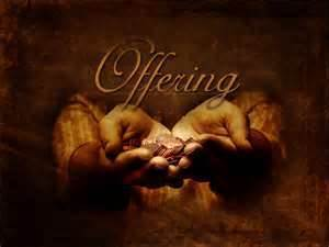 Annual Offertory Renewal - October 24th