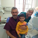 Ms. Sani serving up love and dental care in Armenia