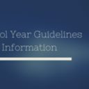 New School Year Guidelines and Information