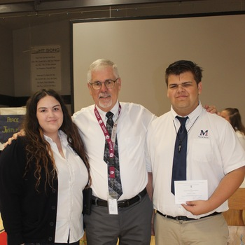 Two SJM students in the 2020 National Merit Scholarship Program (Click here to read more)