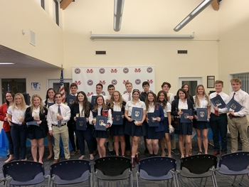 Congratulations 2019-2020 NHS Inductees