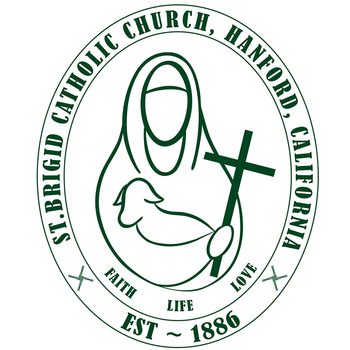 Kyra Cruz creates new logo for St. Brigid Church