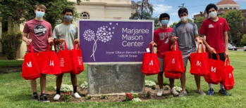 SJM End-of-Year Service Project Benefits Marjorie Mason Center